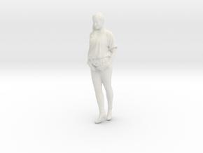 Printle C Femme 115 - 1/64 - wob in White Natural Versatile Plastic