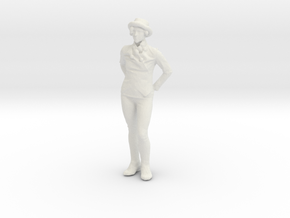 Printle C Femme 151 - 1/64 - wob in White Natural Versatile Plastic