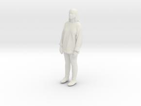 Printle C Femme 199 - 1/64 - wob in White Natural Versatile Plastic