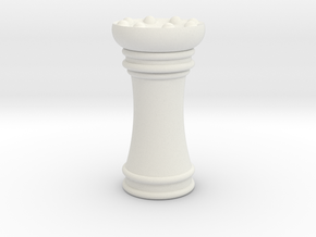 Courier chess Schleich in White Natural Versatile Plastic