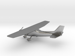 Cessna 172 Skyhawk in Natural Silver: 1:108