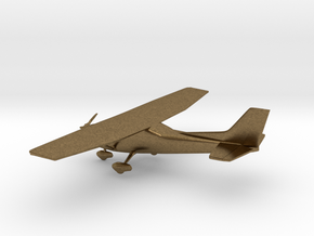 Cessna 172 Skyhawk in Natural Bronze: 1:108