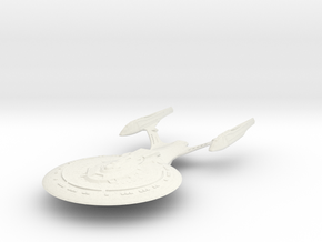 Kent Class  HvyCruiser in White Natural Versatile Plastic