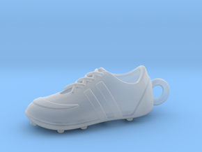 Soccer Shoe 1611051453 in Smooth Fine Detail Plastic