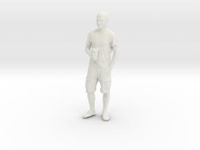 Printle C Homme 092 - 1/64 - wob in White Natural Versatile Plastic