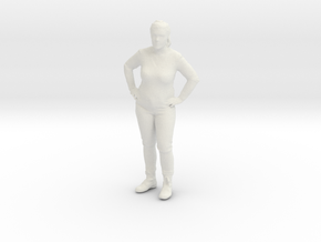 Printle C Femme 202 - 1/32 - wob in White Strong & Flexible