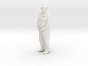 Printle C Femme 209 - 1/32 - wob in White Strong & Flexible