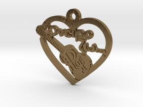 Oneiro Zw Keychain in Natural Bronze
