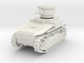PV19 T1E2 Light Tank (1/48) in White Strong & Flexible