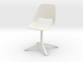 Vitra Jill in White Natural Versatile Plastic
