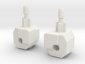 cannon bot  fist in White Natural Versatile Plastic