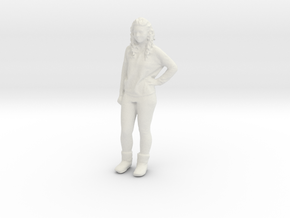 Printle C Femme 462 - 1/20 - wob in White Natural Versatile Plastic