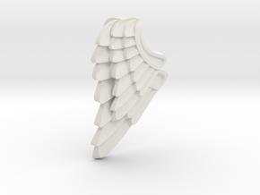 Mom N  Child Angel Wing_ Cadiaan  in White Natural Versatile Plastic