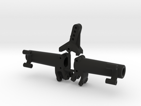 Rear axle AR44 | Kit wider in Black Strong & Flexible