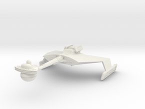 K't'inga D7  Battlecruiser in White Natural Versatile Plastic