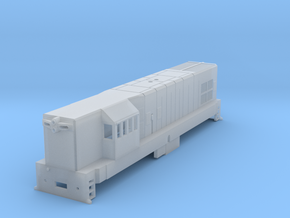 1:76 Scale T42 in Smooth Fine Detail Plastic