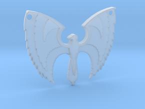 Phoenix Pendant in Smooth Fine Detail Plastic
