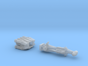 Rebellious Spaceship, 1:2700 in Smoothest Fine Detail Plastic