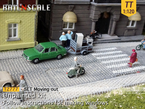 Moving out (TT 1:120) in Smooth Fine Detail Plastic