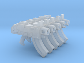 Mk87 Thunderbolt Pistols (with grip) in Smooth Fine Detail Plastic