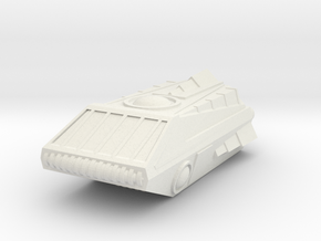 Shuttle1 in White Natural Versatile Plastic