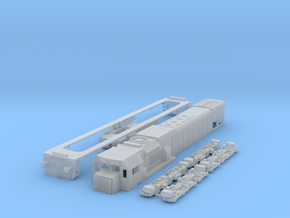 G26HCW-2 HO Scale in Smooth Fine Detail Plastic
