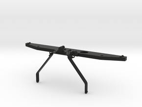 Rear bumper with towbar D90 D110 Team Raffee in Black Natural Versatile Plastic