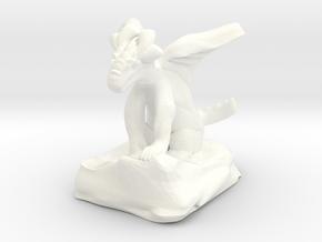 Large Pseudodragon companion - 31 mm in White Processed Versatile Plastic