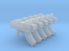 Lightning Warriors Mk87 Thunderbolt Pistols in Smooth Fine Detail Plastic