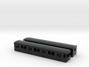 DB 477 N-scale [2x body] in Black Hi-Def Acrylate
