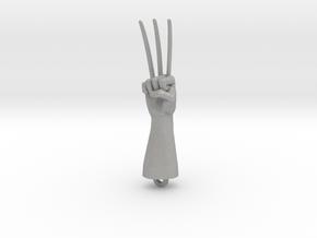 Logan Wolverine claws pendant in Aluminum