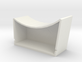 ESB Port Sidewall Pit in White Natural Versatile Plastic