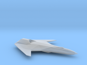 Corsair-Class Fighter in Smooth Fine Detail Plastic