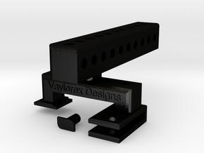 VDesigns Pro Grip in Matte Black Steel