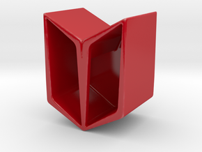 YOUNG Vase/Planter Modular in Gloss Red Porcelain