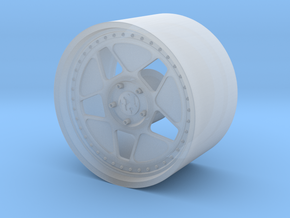 1:24 Sleeved Hoonicorn Rim in Smooth Fine Detail Plastic