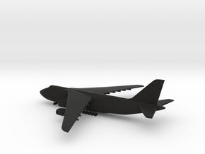 Antonov An-124 Ruslan in Black Strong & Flexible: 1:700