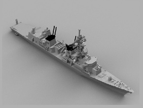1/1800 JS Murasame in Smooth Fine Detail Plastic