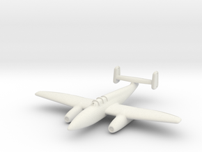 Heinkel He 280 V2 1/200 in White Natural Versatile Plastic