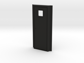 Rivarossi FM C-Liner Rear Door Insert in Black Natural Versatile Plastic