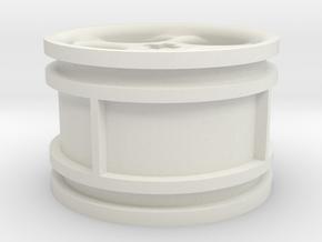 5-spoke rims 30mmØ model3 in White Natural Versatile Plastic