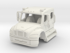 1/87 Freightliner Crew Cab in White Strong & Flexible