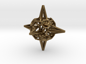 Crowns D8 in Polished Bronze