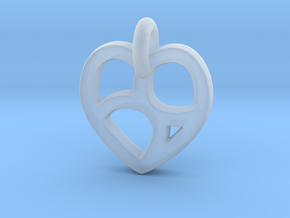 Lover's 69 Heart in Smooth Fine Detail Plastic
