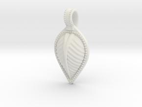 Leaf New in White Natural Versatile Plastic