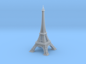 1/2000 Eiffel Tower in Smooth Fine Detail Plastic