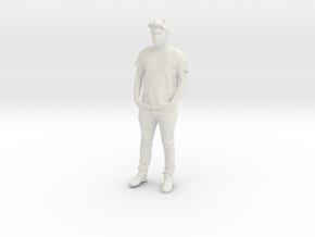 Printle C Homme 594 - 1/20 - wob in White Natural Versatile Plastic
