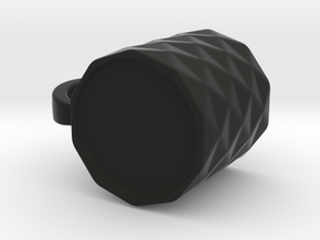 Ivariacoffeemug in Black Natural Versatile Plastic