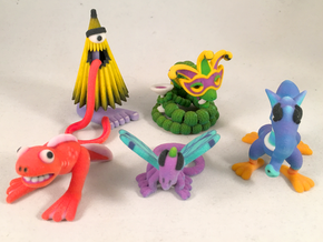 2 Inch Monsters: Batch 14 in Full Color Sandstone