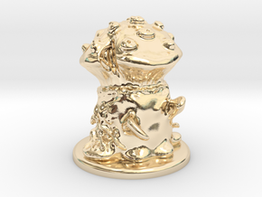 Fungus Monster in 14K Yellow Gold